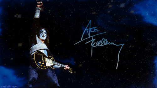 baciare Guitarists wallpaper titled Ace Frehley