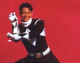 Adam Black Mighty Morphin Ranger and Green Zeo Ranger