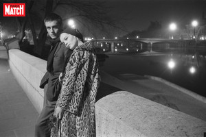 Alain Delon and Romy Schneider