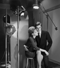 Alain Delon and Romy Schneider