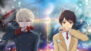 Aldnoah.Zero 壁纸 Slaine and Inaho