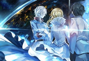 Aldnoah.Zero 壁纸 Slainen Inaho and Princesess