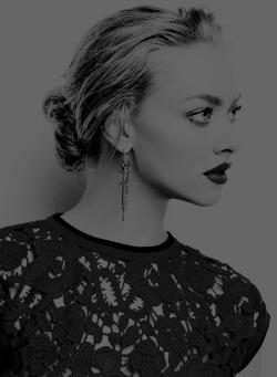 Amanda Seyfried photographed by Matt Jones for Marie Claire UK, 2015