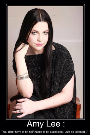 Amy Lee. Quote