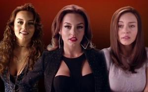 Ana Laura,Ana Leticia and  Ana Lucía