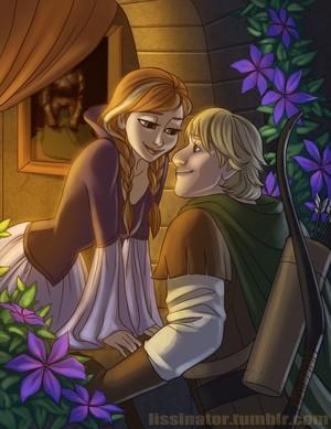 Anna and Kristoff