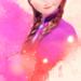 Anna watercolor icon  - disney-princess icon