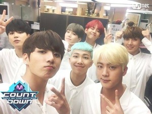 Bangtan Boys at M Countdown ♥