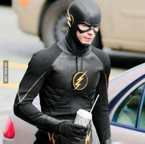 The Flash (CW) 바탕화면 possibly containing a hip boot titled Barry Allen - Black Flash