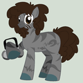 Beardo as a pony - total-drama-island fan art