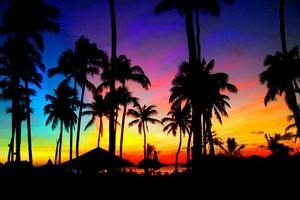 Beautiful colorful sky