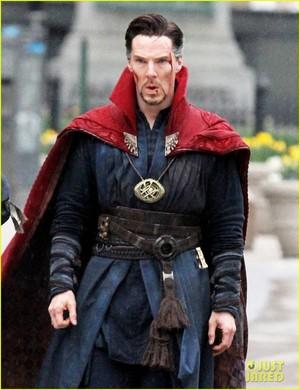 Benedict - Doctor Strange - बी टी एस
