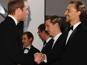Benedict and Tom meeting Prince William