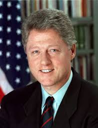The Presidents of The United States Обои with a business suit, a suit, and a judge advocate entitled Bill Clinton