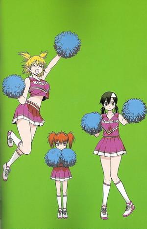 Blood Lad Cheerleaders