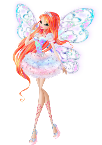the winx club wallpaper called Bloom Candix