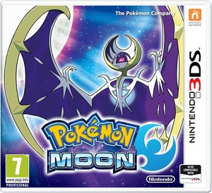 Box Art for Pokémon Sun & Moon [featuring the two legendary Pokémon.]