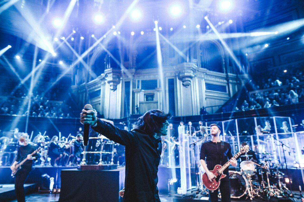 Bring Me The Horizon At Royal Albert Hall Zeigen Bring Me