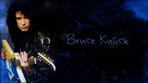 baciare Guitarists wallpaper containing a guitarist and a concerto called Bruce Kulick