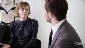 CNN Interview about Emma's MET Gala dress