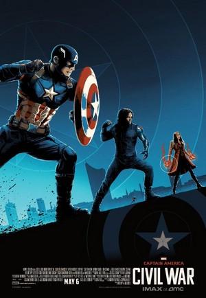 Captain America: Civil War - IMAX Poster