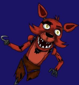 Cartoony Foxy
