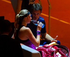 Cermak and Kvitova match 2016..