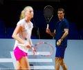 Cermak looks on Kvitova.. - youtube photo