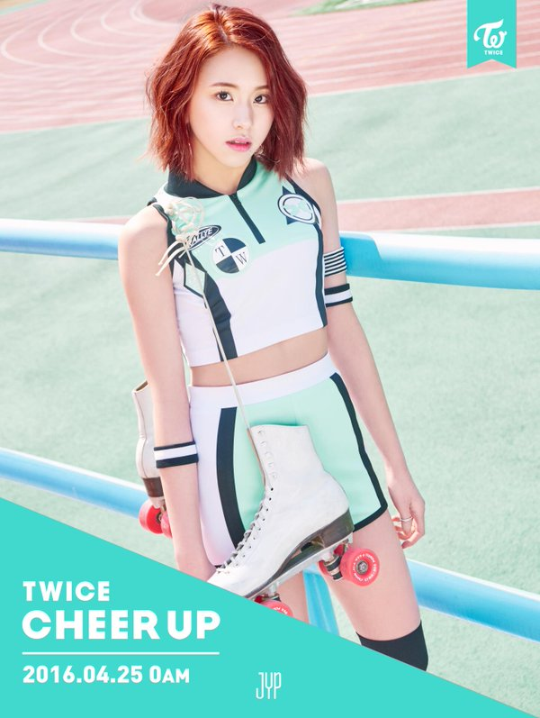 Chaeyoung ''Cheer Up'' teaser pic
