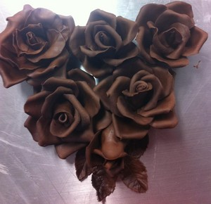 Schokolade Rosen