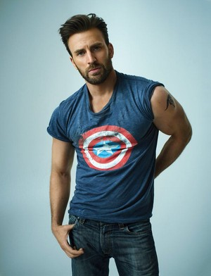 Chris Evans for Rolling Stone