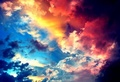 Colorful sky - colors photo