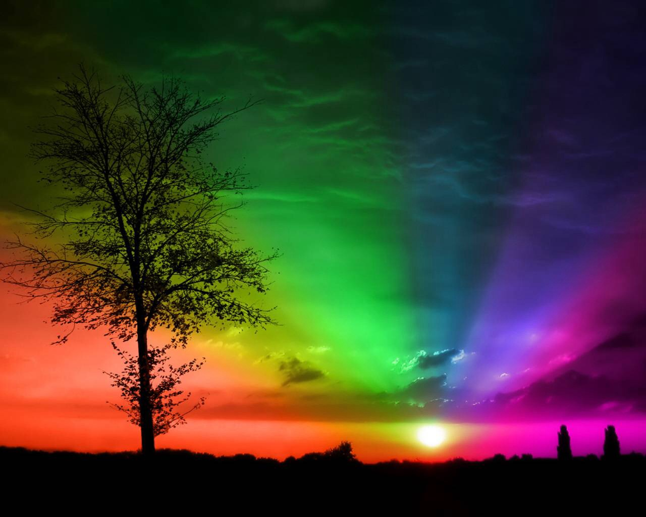 colors images colorful sunset hd wallpaper and background photos