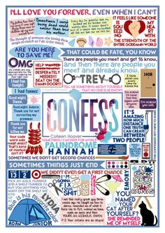 Confess collage