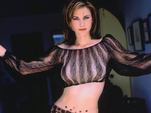Courteney Cox aka Monica Geller