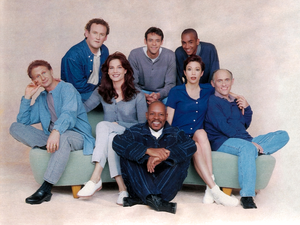 DS9 Cast, season 1-3. TV Guide, July 22nd 1995