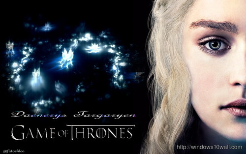Game of Thrones wallpaper with a portrait titled Daenerys Targaryen
