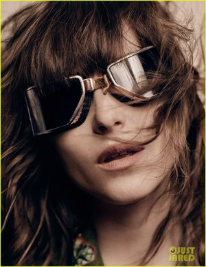Dakota Johnson does a super sexy चित्र shoot for Interview magazine's May 2016 issue.