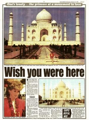 Diana -Taj Mahal
