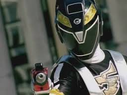 Dillion Morphed As The Black RPM Ranger