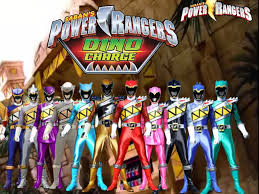 Dino Charge Power Rangers