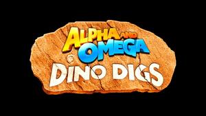 Dino Digs tajuk Card