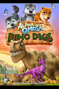 Dino Digs segundo DVD cover
