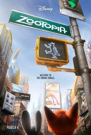 Disney's Zootopia ( U.S.A. ) Poster