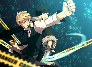 Durarara Shizuo and Izaya