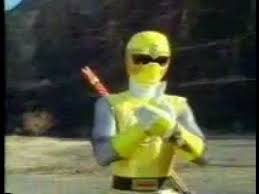 Dustin Morphed As The Yellow Wind Ranger