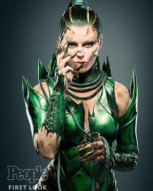 Elizabeth Banks as Rita Repulsa in Power Rangers (2017)