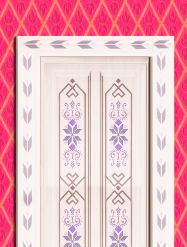 Elsa the Snow Queen wallpaper called Elsau0027s door. Elsau0027s door. Frozen ...  sc 1 st  Fanpop & Elsa the Snow Queen images Elsau0027s door wallpaper and background ...
