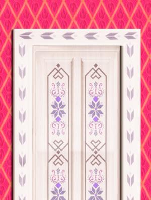 Elsa's door