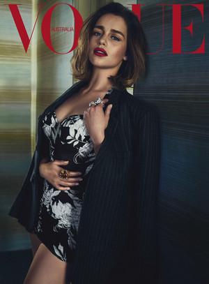 Emilia for Vogue Australia